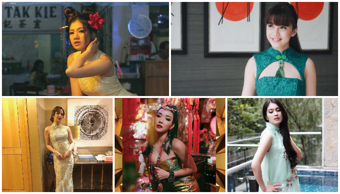 Sambut Imlek, 5 Artis Cantik Ini Tampill Menawan Pakai Baju Ala Tiongkok