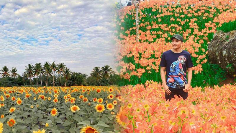Tadinya Nggak Terpakai, 5 Lahan Ini Disulap Warga Jadi Kebun Bunga yang Cantik dan Instagrammable