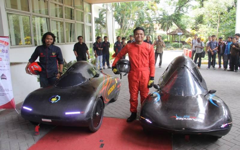 Keren, Ini Mobil Canggih Hemat Energi Karya Mahasiswa ITS Surabaya