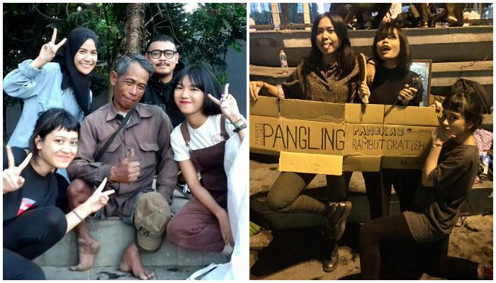 Tukang Cukur Keliling Cantik di Bandung Jadi Berita, Bayarnya Cuma Pakai Senyuman
