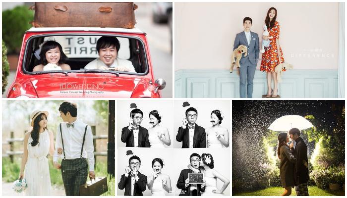 5 Foto Pre-wedding Ala Pasangan Korea Ini Bisa Kamu Jadikan Inspirasi