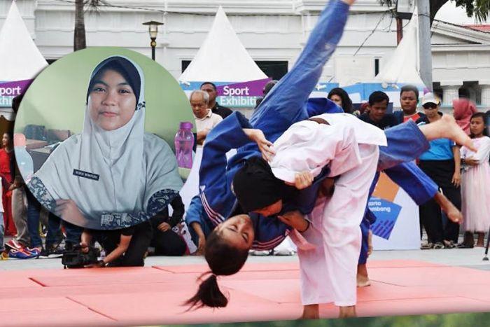 Riska Wahyuni, Pelajar SMA Sekaligus Atlet Judo Peraih 20 Medali Emas