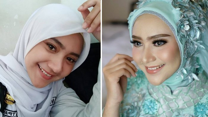Kisah Nuryin, Model Cantik Berhijab Asal Surabaya yang Banting Setir Jadi Satpam di Bank