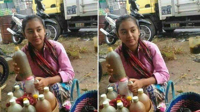 Berparas Cantik dan Menawan, Penjual Jamu Gendong di Bogor Jadi Berita