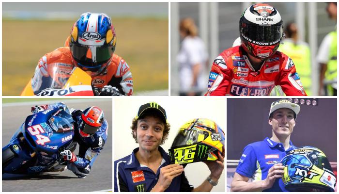 Bangga, Helm Buatan Indonesia Masuk 5 Besar yang Sering Dipakai di MotoGP
