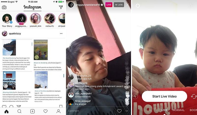 Biar Nggak Monoton dan Banyak Ditonton, Ini 5 Ide Menarik Saat Live Streaming Instagram