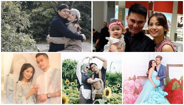 5 Kisah Cinta Pasangan Seleb Sampai Akhirnya Naik Pelaminan, Bikin Baper