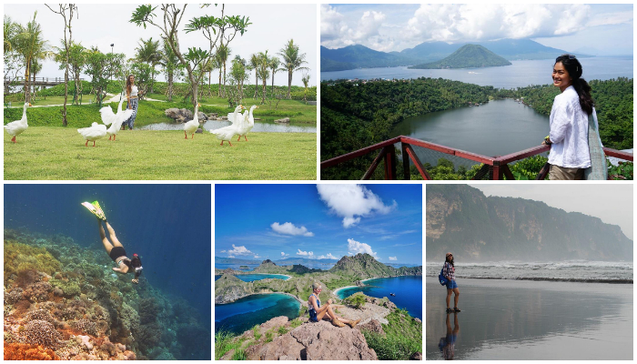 Kenalkan Kekayaan Alam Indonesia, Ini 5 Traveler Cantik Paling Berpengaruh dan Menginspirasi