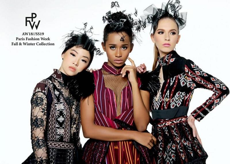 Bangga, Kain Tenun NTT Mendunia Setelah Tampil di Paris Fashion Week 2018