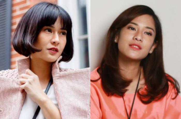 5 Seleb Indonesia Dengan Rambut Pendek Vs Rambut Panjang Cantik Mana Jadiberita Com
