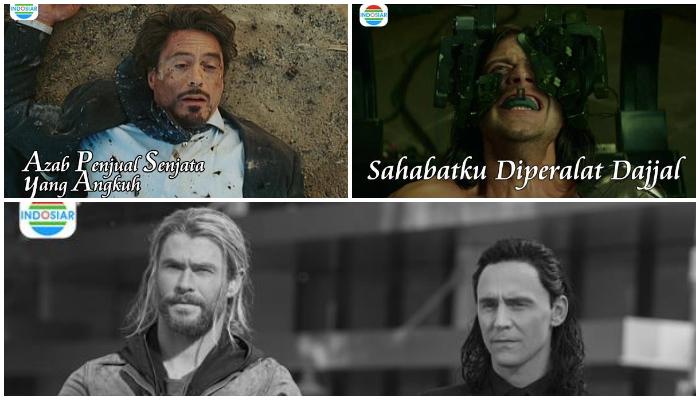 Kocak, Begini Jadinya Jika Film-film Superhero Marvel Diubah Judulnya Jadi Sinetron Indonesia