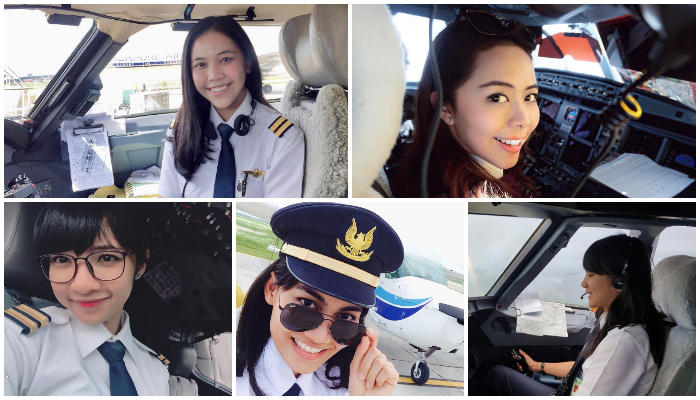 Kenalan dengan 5 Pilot Cantik yang Ada di Indonesia, Tipe Kamu yang Mana?