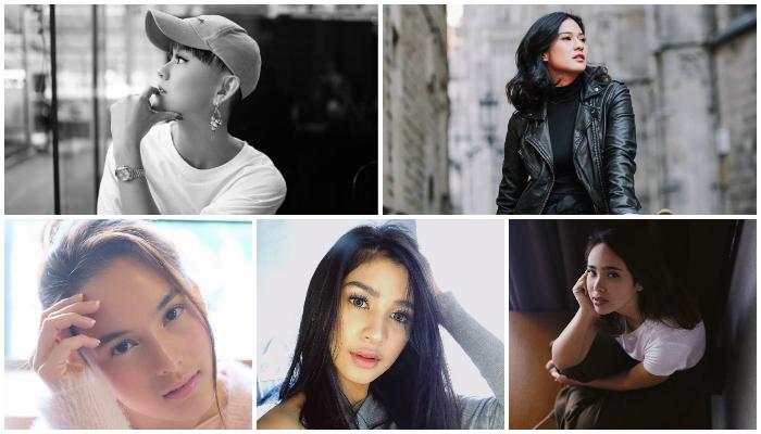 5 Seleb Indonesia dengan Rambut Pendek vs Rambut Panjang, Cantik Mana?