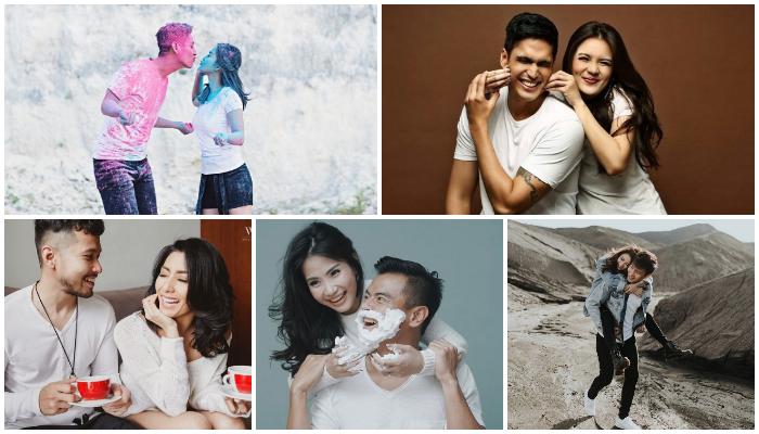 Sederhana, 5 Pasangan Seleb Ini Cuma Pakai Kaos Putih Saat Pre-wedding