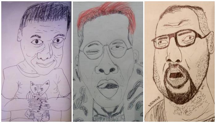 Bukannya Keren, Sketsa Artis Indonesia Malah Jadi Kocak di Tangan Pengguna Instagram Ini