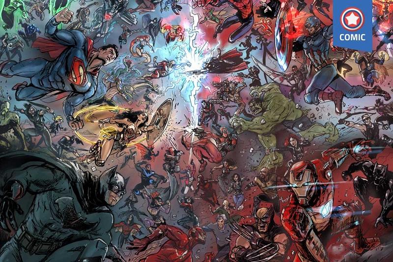 Ternyata, 5 Superhero Marvel dan DC Ini Pernah Saling Bertarung, Siapa yang Menang?
