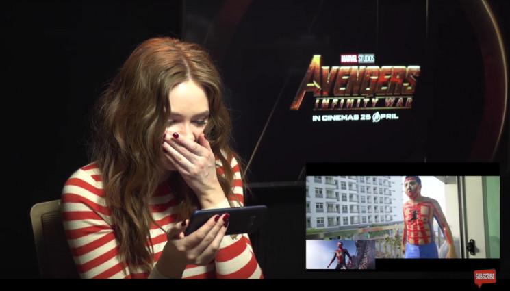 Begini Reaksi Para Pemain Avengers: Infinity War Saat YouTuber Indonesia Parodikan Trailernya