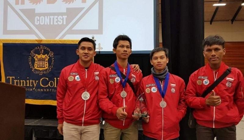Mantap, Mahasiswa UGM Raih Emas dalam Kontes Robot di Amerika Serikat, Membanggakan!