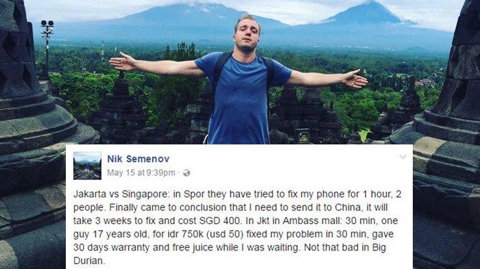 Kisah Bule yang Lebih Pilih Servis Smartphone di Indonesia Ini Jadi Berita, Bikin Bangga!