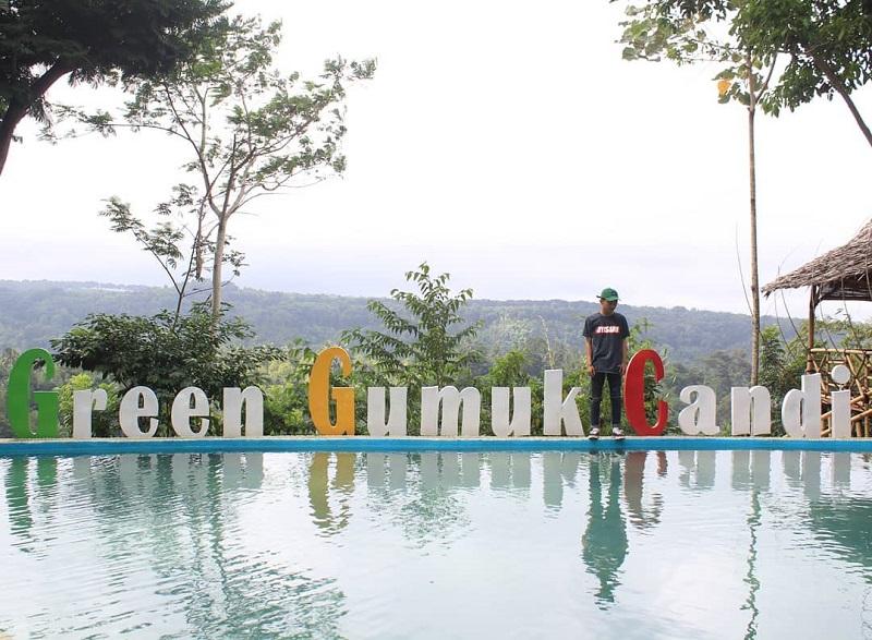Mau Ngabuburit Sambil Foto-foto? Datang Saja ke Green Gumuk Candi di Banyuwangi yang Instagrammable